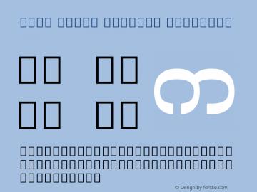 Noto Serif Myanmar SemiBold Version 2.000图片样张