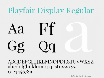 Playfair Display Version 1.003;PS 001.003;hotconv 1.0.70;makeotf.lib2.5.58329; ttfautohint (v0.93) -l 42 -r 42 -G 200 -x 14 -w