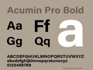 Acumin Pro Version 1.011;PS 1.000;hotconv 1.0.86;makeotf.lib2.5.63406图片样张