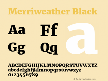 Merriweather Black Regular Version 1.584; ttfautohint (v1.5) -l 6 -r 36 -G 0 -x 10 -H 350 -D latn -f cyrl -w