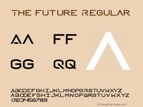 The Future Regular Version 1.000图片样张