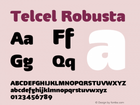Telcel Robusta Version 1.00 2010图片样张