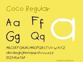 Coco Regular Version 2图片样张