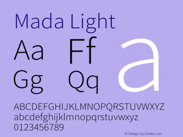 Mada Light Version 1.004图片样张