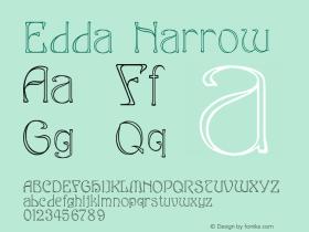 EddaNarrow Version 001.000图片样张