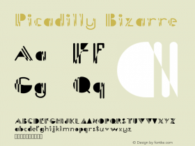 PicadillyBizarre Version 001.000图片样张