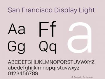 San Francisco Display Light 10.0d46e1图片样张