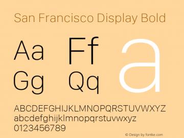 San Francisco Display Thin 10.0d46e1图片样张