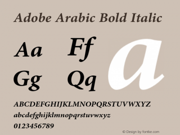 Adobe Arabic Font Family|Adobe Arabic-Uncategorized Typeface
