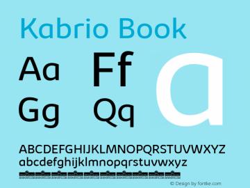 Kabrio-Book Version 1.000图片样张