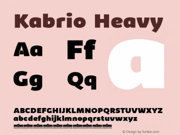 Kabrio-Heavy Version 1.000图片样张