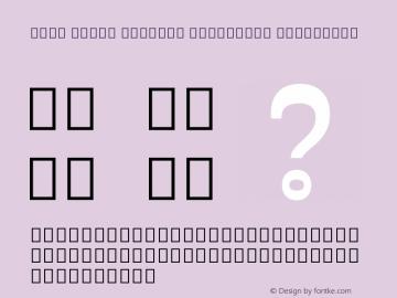 Noto Serif Myanmar Condensed ExtraBold Version 2.001;GOOG;noto-source:20171016:bf6466d78425图片样张
