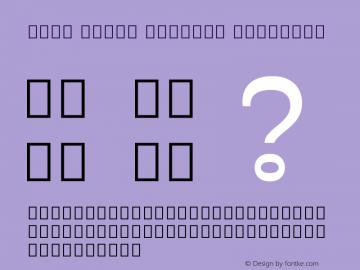 Noto Serif Myanmar SemiBold Version 2.001;GOOG;noto-source:20171016:bf6466d78425图片样张