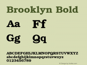 Brooklyn Bold 001.003图片样张