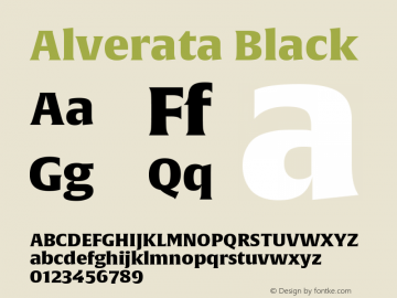 AlverataBl Version 1.001图片样张