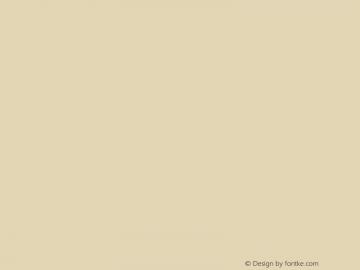 文鼎香肠体 CoolType Version 1.0图片样张