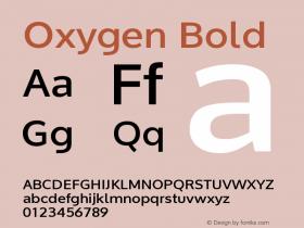 Oxygen-Bold Version 1.000图片样张