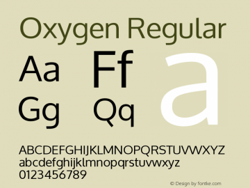 Oxygen Version 1.000图片样张