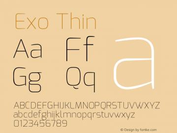 Exo Thin Version 1.00图片样张