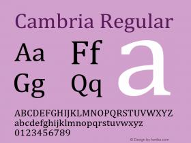 Cambria Version 6.91 November 25, 2016图片样张