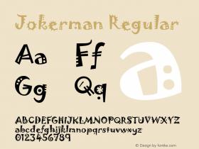 Jokerman Version 1.00 December 17, 2016, initial release图片样张