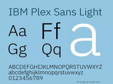 IBM Plex Sans Font,IBM Plex Sans Light Font,IBMPlexSans-Light Font