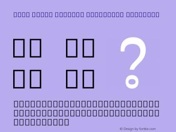 Noto Serif Myanmar Condensed SemiBold Version 2.000图片样张