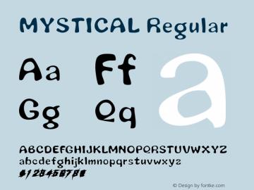 MYSTICAL Regular Altsys Metamorphosis:11/15/97图片样张