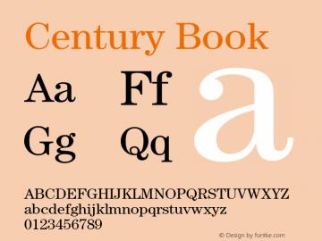 Century-Book Version 2.031;PS 002.000;hotconv 1.0.50;makeotf.lib2.0.16970图片样张