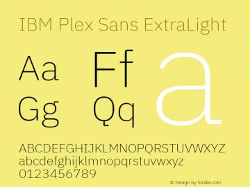 IBM Plex Sans Font,IBM Plex Sans ExtraLight Font,IBMPlexSans
