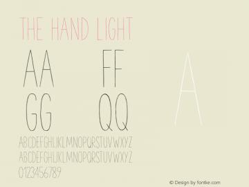 TheHand-Light Version 1.001图片样张