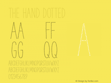 TheHand-Dotted Version 3.000图片样张