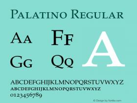 Palatino-SC 001.001图片样张
