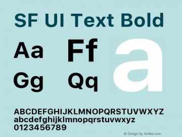 SF UI Text Bold 11.0d59e2图片样张