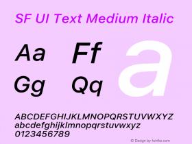 SF UI Text Medium Italic 11.0d59e2图片样张
