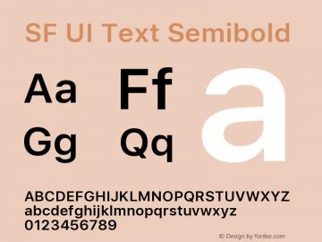 SF UI Text Semibold 11.0d59e2图片样张