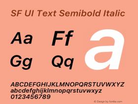 SF UI Text Semibold Italic 11.0d59e2图片样张