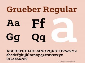 Grueber Version 1.001图片样张