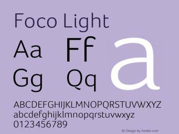 Foco Light Version 1.101图片样张