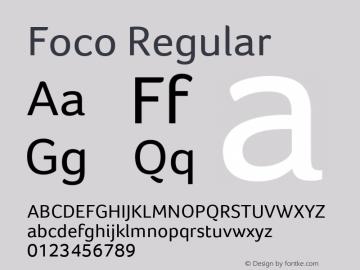 Foco Version 1.101图片样张