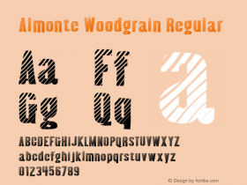 Almonte Woodgrain Version 1.0; 2001; initial release图片样张