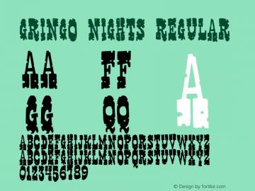 Gringo Nights 2001; 1.0, initial release图片样张