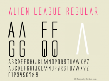 Alien League 1图片样张