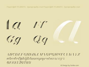 Obsidian Highlight Italic Version 1.200图片样张