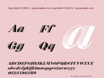 Obsidian Italic Version 1.200图片样张