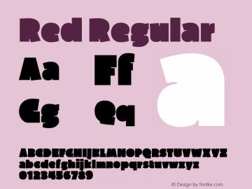 Red Version 1.000图片样张