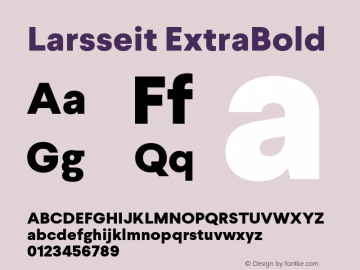 Larsseit-ExtraBold 1.000;com.myfonts.typedynamic.larsseit.extra-bold.wfkit2.4685图片样张