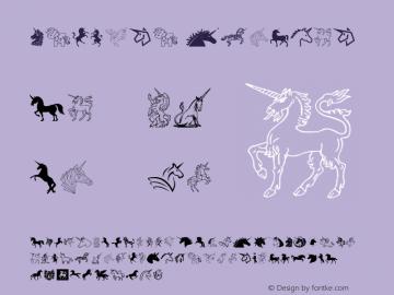 Unicorn Version 1.00;January 5, 2018;FontCreator 11.0.0.2388 64-bit Font Sample