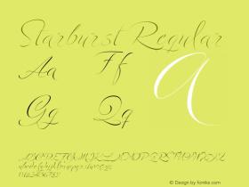 Starburst Regular Version 1.60图片样张