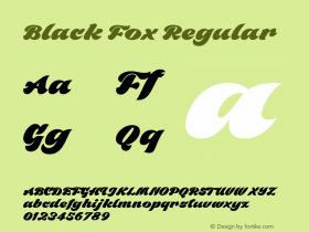 BlackFox 1.000图片样张